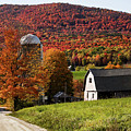 Vermont Country Lane by Jeff Folger