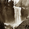 Vernal Fall, Vosemite Valley 1912 by California Views Archives Mr Pat Hathaway Archives