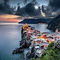 Vernazza Cityscape by Andrei Dima