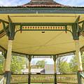 Victorian Gazebo Bandstand New Boston New Hampshire by Edward Fielding