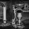 Victorian Medical Device Vapo Cresolene Vaporizer Bw by Paul Ward