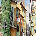 Vieux Nice by Linda Mccluskey