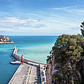 View From Castle Hill To The Sea In Nice by Artur Bogacki