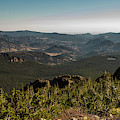 View From Flattop Mountain Trail by Michael Putthoff