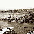 View Looking Towards Lovers Point From Otter Point Pacific Grove by California Views Archives Mr Pat Hathaway Archives