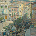View Of A Southern French City by Childe Hassam