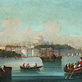 View Of Istanbul - 1 by 19th Century