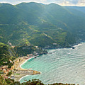 View Of Monterosso Cinque Terre Italy by Joan Carroll