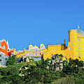 View Of Pena National Palace, Sintra, Portugal, Europe by Alexandre Rotenberg