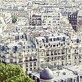View Of Roofs Of Paris by By Smaranda Madalina Cheregi
