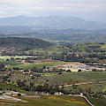 View Of Simi Valley From Reagan Library Grounds 4 by Colleen Cornelius