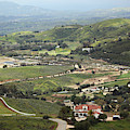 View Of Simi Valley From Reagan Library Grounds 6 by Colleen Cornelius