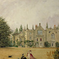 View Of Strawberry Hill Middlesex by Gustave Ellinthorpe Sintzenich