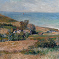 View Of The Seacoast Near Wargemont In Normandy, 1880 by Auguste Renoir