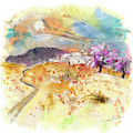 Village On The Costa Blanca by Miki De Goodaboom