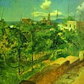 Vineyard At Vico by Ge Nikolai