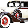 Vintage 1934 Packard Sedan - Dwp2737447 by Dean Wittle