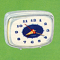 Vintage 1950s Alarm Clock by Graphicaartis