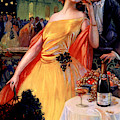 Vintage Advertising Poster For Champagne  by Gaspar Camps Junyent
