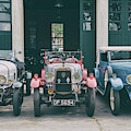 Vintage Alvis Cars At Bicester Heritage Centre by Tim Gainey