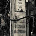 Vintage Antique Gas Pump by Edward Fielding