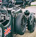 Vintage Bentley Motor Car by Tim Gainey
