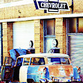 Vintage Chevrolet In Bisbee, Arizona by Tatiana Travelways