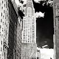Vintage Chrysler Building 2006 New York City by John Rizzuto