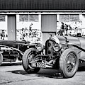 Vintage Classic Cars Panoramic by Tim Gainey