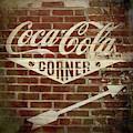 Vintage Coca Cola Sign - Fenway Park by Joann Vitali
