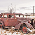 Vintage Dilapidated Old Vehicle by Sue Smith