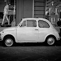 Vintage Fiat 500 Florence Italy by Edward Fielding