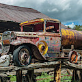 Vintage Ford Tanker by Tony Baca