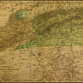 Vintage Map Of North Africa Including Morocco Algeria And Tunisia 1901 by Design Turnpike