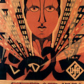 Vintage Movie Poster For Metropolis, Directed By Fritz Lang, 1927 by German School