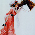 Vintage Poster For The International Horse Show At Olympia, 1910 by English School