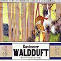 Vintage Poster - Gasteiner Waldduft by Vintage Images