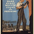 Vintage Poster - Make Every Minute Count by Vintage Images