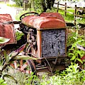 Vintage Rusted Tractor by Marge Sudol