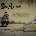 Vintage San Antonio Advertisement by Mary Beth Welch