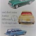 Vintage Studebaker Advertisement by Mary Beth Welch