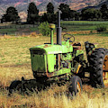 Vintage Tractor In Honeyville by David King