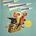 Vintage Travel Poster Bavarian Alps Austria Germany by Movie Poster Prints