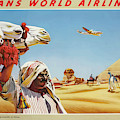 Vintage Travel Poster Egypt 2 by Movie Poster Prints