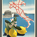 Vintage Travel Poster - Italy by Esoterica Art Agency