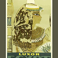 Vintage Travel Poster - Luxor, Egypt by Esoterica Art Agency