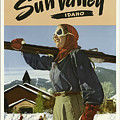 Vintage Travel Poster - Sun Valley, Idaho by Esoterica Art Agency