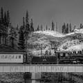 Virginia Truckee Railroad by Donna Kennedy