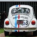 Vw Bug Car by Cynthia Guinn
