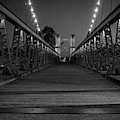 Waco Suspension Bridge  by Imagery by Charly